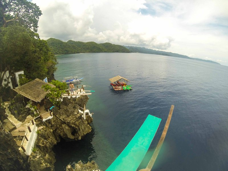 Cliff Jumping At Ariel's Point,Boracay