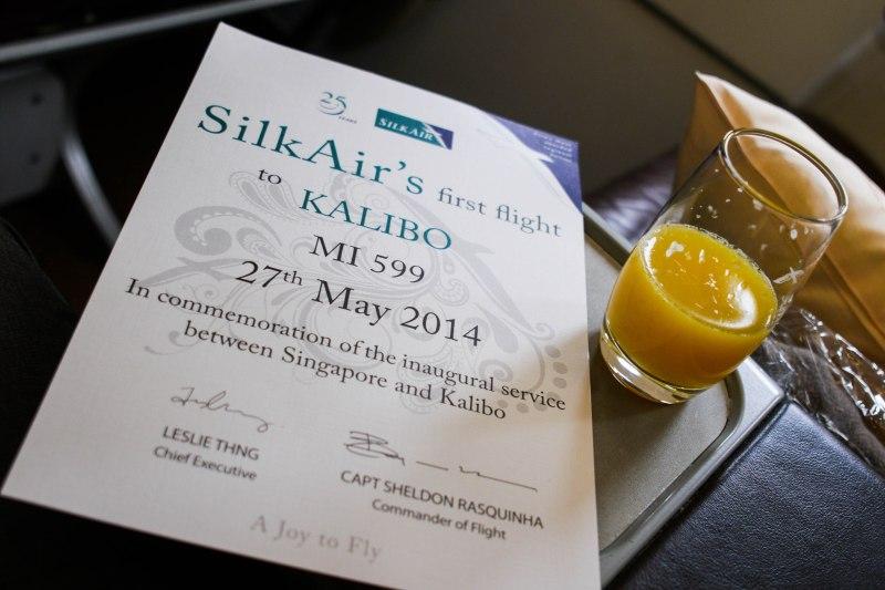 Review Of SilkAir Business Class SG-Kalibo(Boracay)