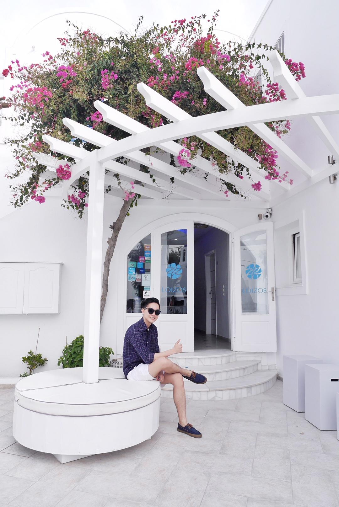 Stylish loizos residences santorini catalog photo